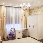 Комната для девочки. Текстиль&обои: Лебедева Екатерина