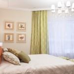 Спальная. Текстиль&обои: Лебедева Екатерина